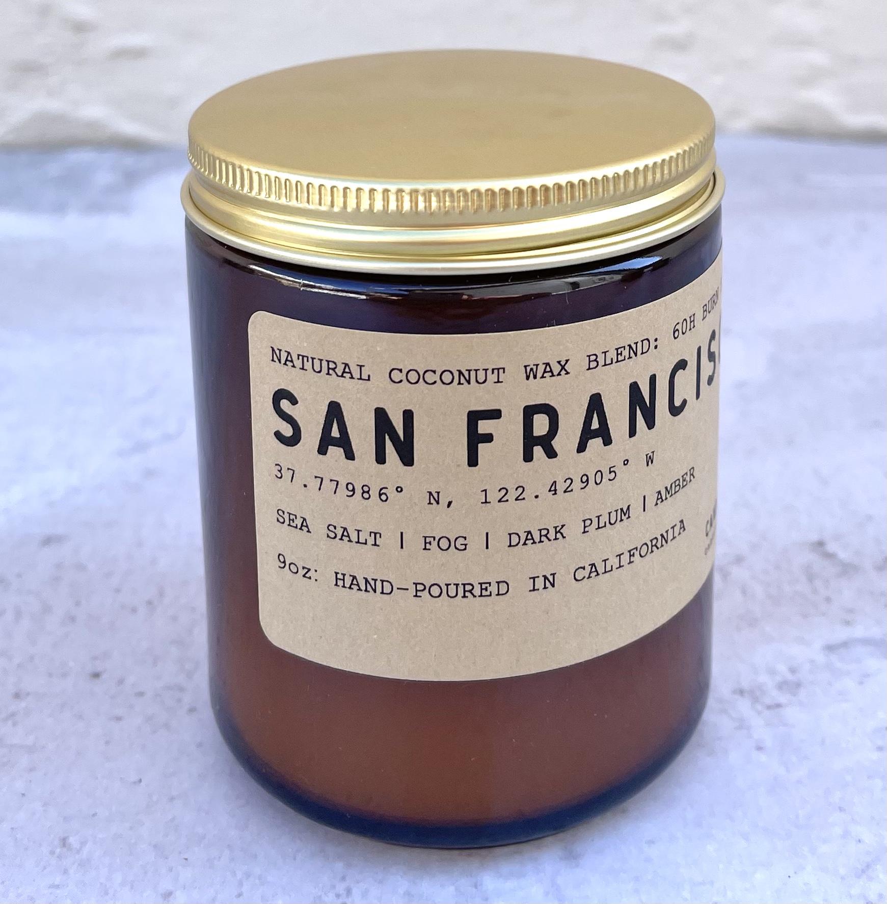 San Francisco: Soy wax candle