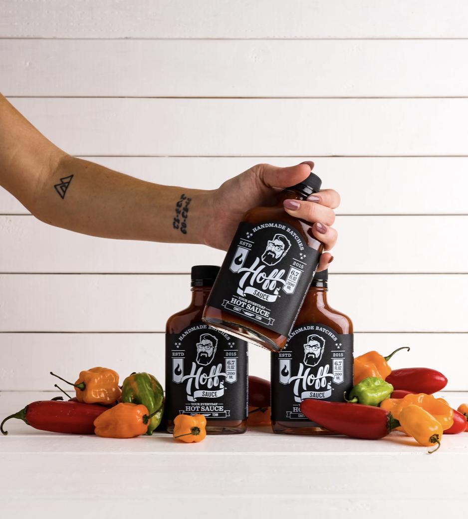 Hoff Sauce, Your Everyday Hot Sauce, Original 6.7 fl oz