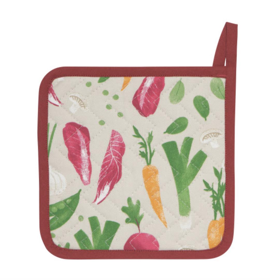 Veggies, Printed Potholder