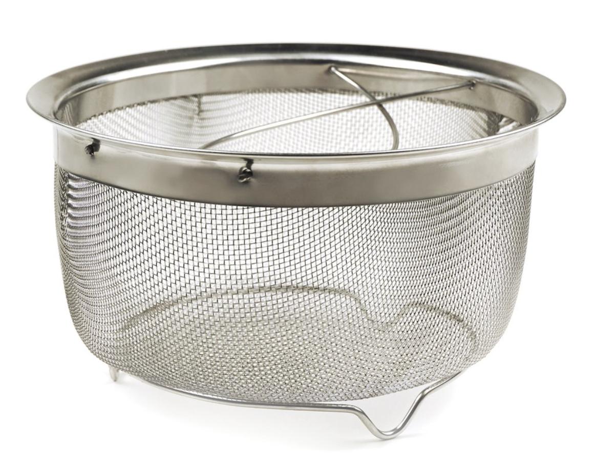 Mesh Basket with Folding Handles, 3QT