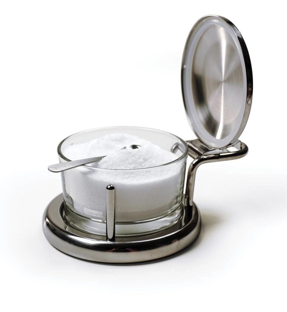 Salt/Seasoning Server with Spoon