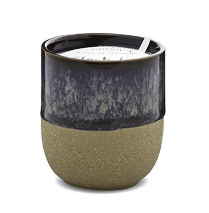 Paddywax Kin 3.5oz Ceramic Candle: Black Fig + Rose