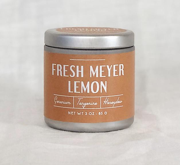 Paddywax Farmhouse 3oz Tin: Fresh Meyer Lemon