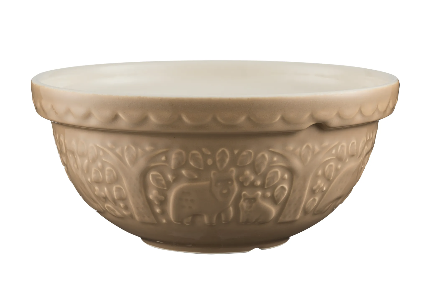 """In the Forest Cane Bear Mixing Bowl, S24/24cm/9.5"""""""