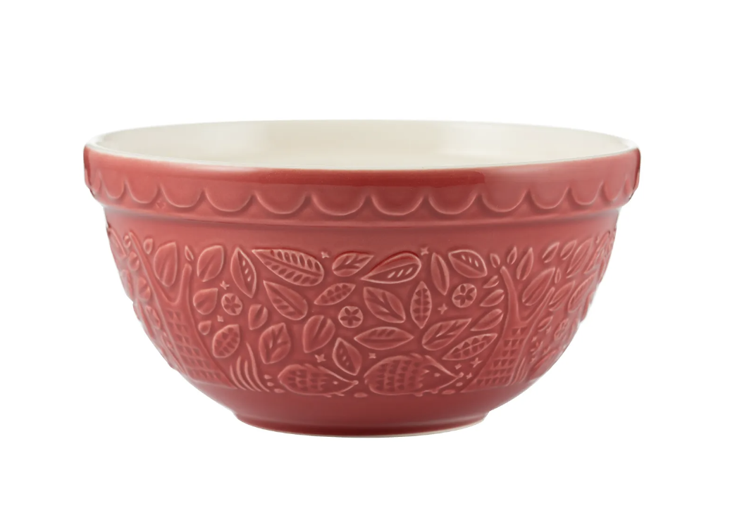 """In the Forest Red Hedgehog Mixing Bowl, S30/21cm/8.25"""""""