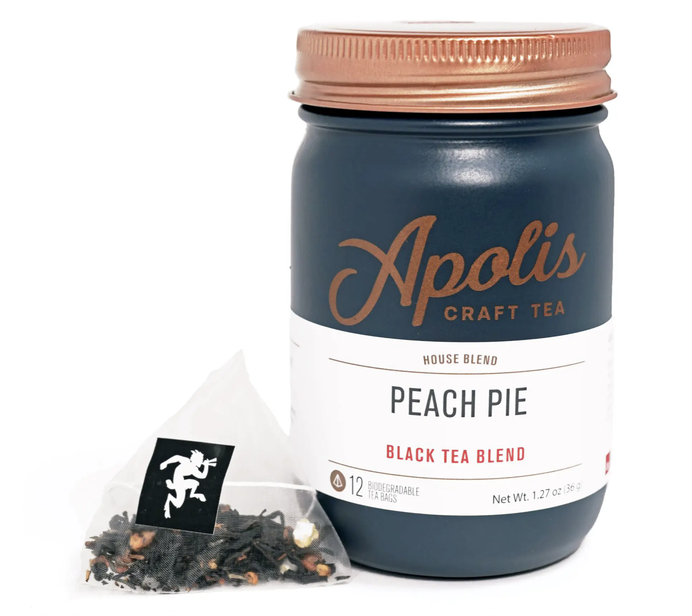 Apolis Tea, Peach Pie, 12 bags