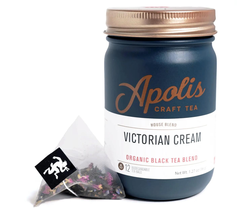Apolis Tea, Victorian Cream, 12 bags