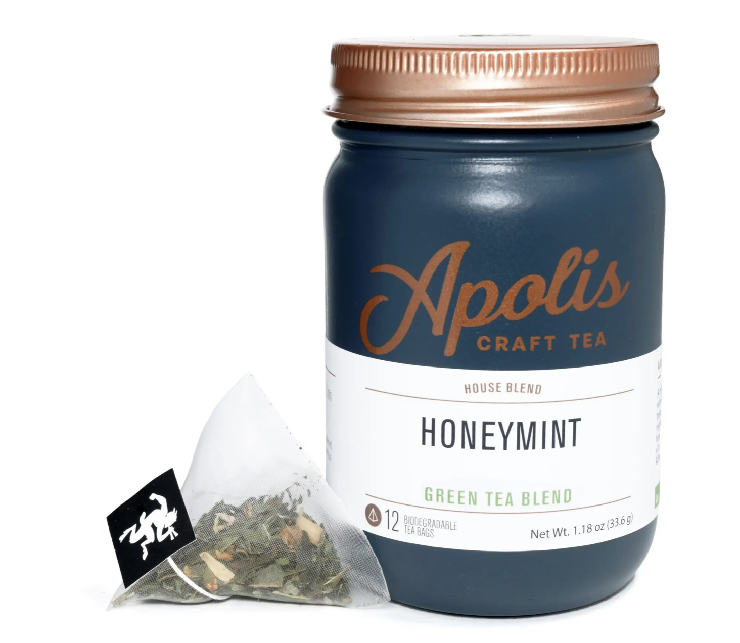 Apolis Tea, Honeymint, 12 bags