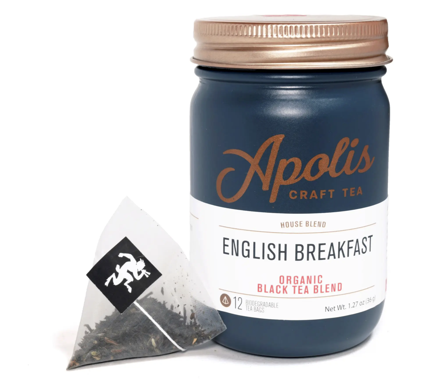 Apolis Tea, English Breakfast, 12 bags