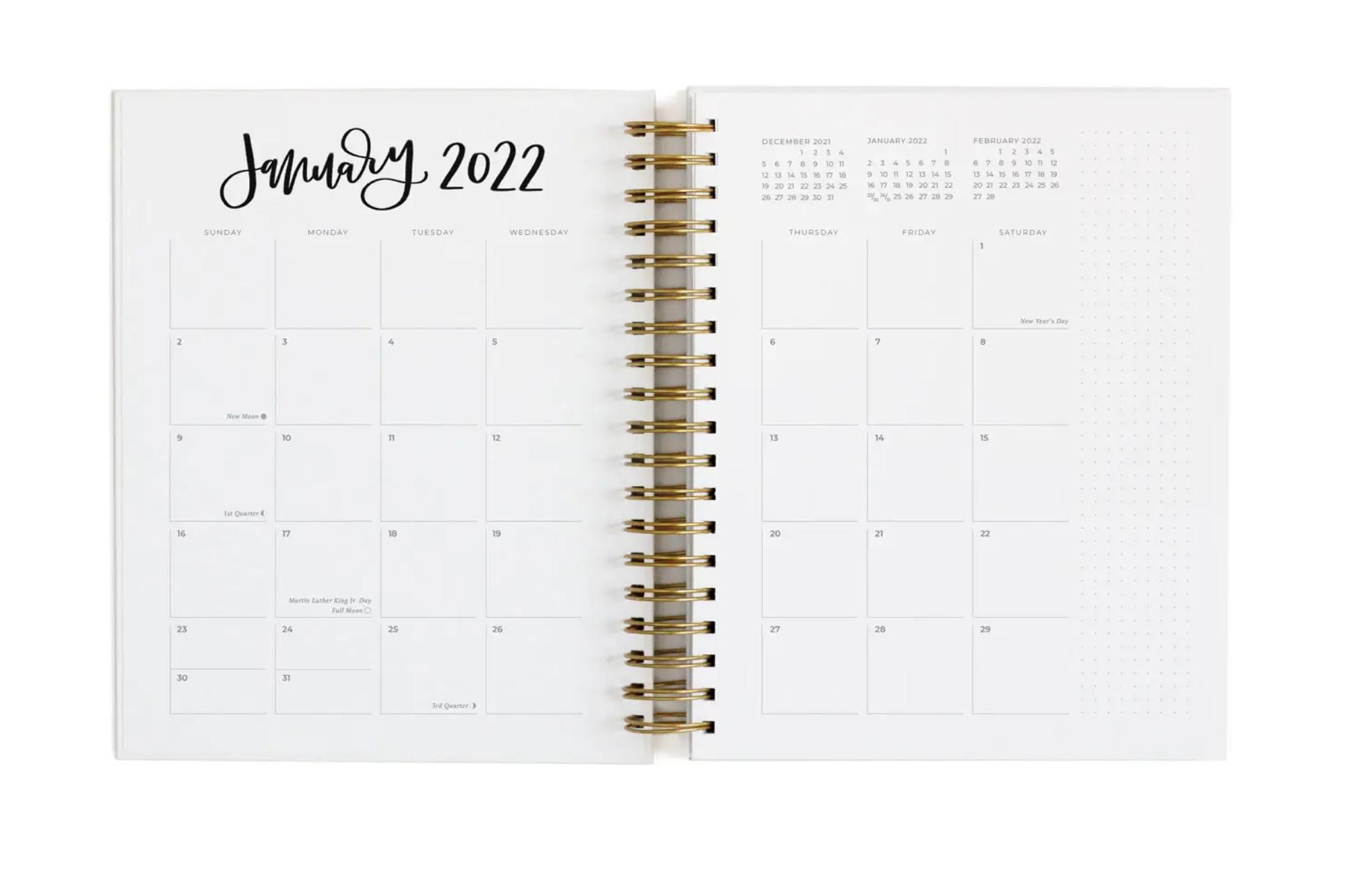 Greenwood 2021-2022 Academic Calendar Year Planner