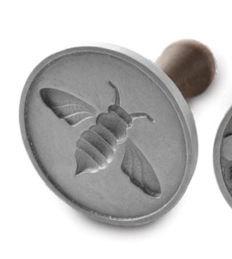 Honeybee Cast Cookie Stamps--SINGLES; CHOOSE DESIGN