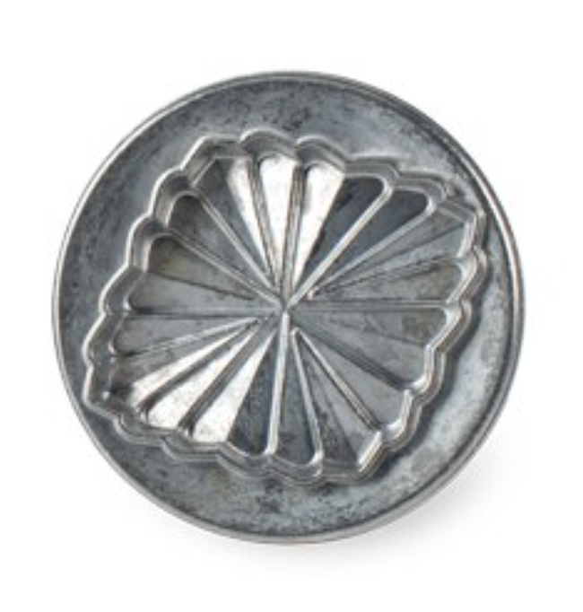 Pretty Pleated Cookie Stamp--SINGLES; CHOOSE DESIGN