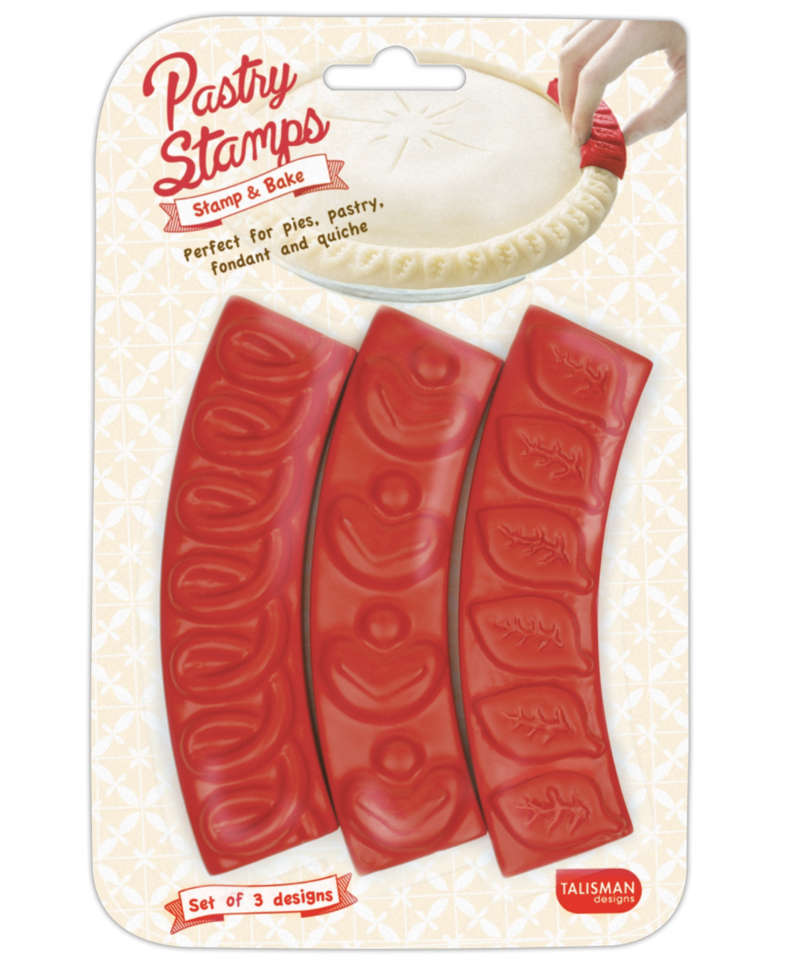 Pastry Stamps, set/3