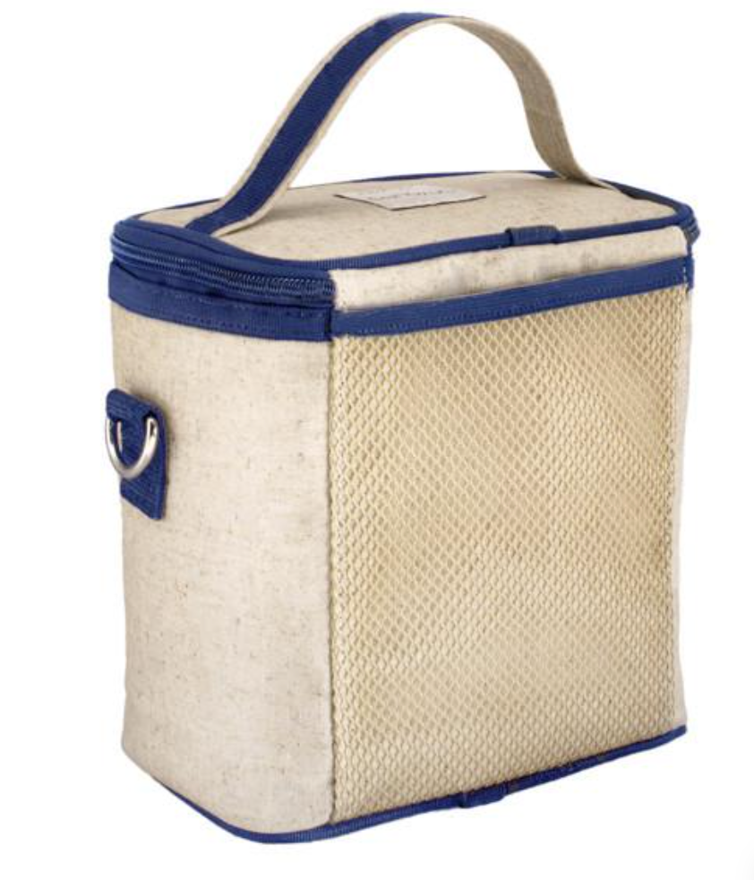 Blue Bicycle Linen SoYoung Cooler