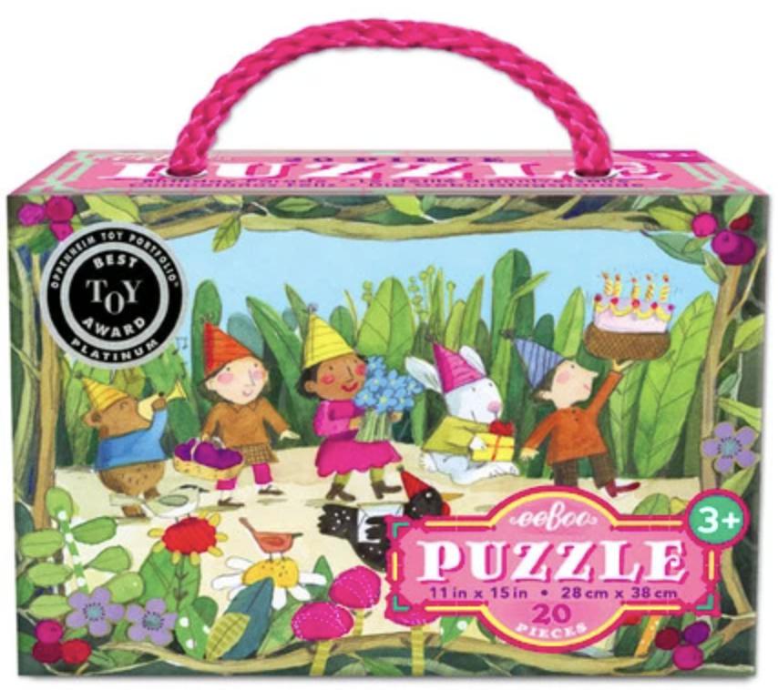 Birthday Parade: eeBoo 20-piece Puzzle
