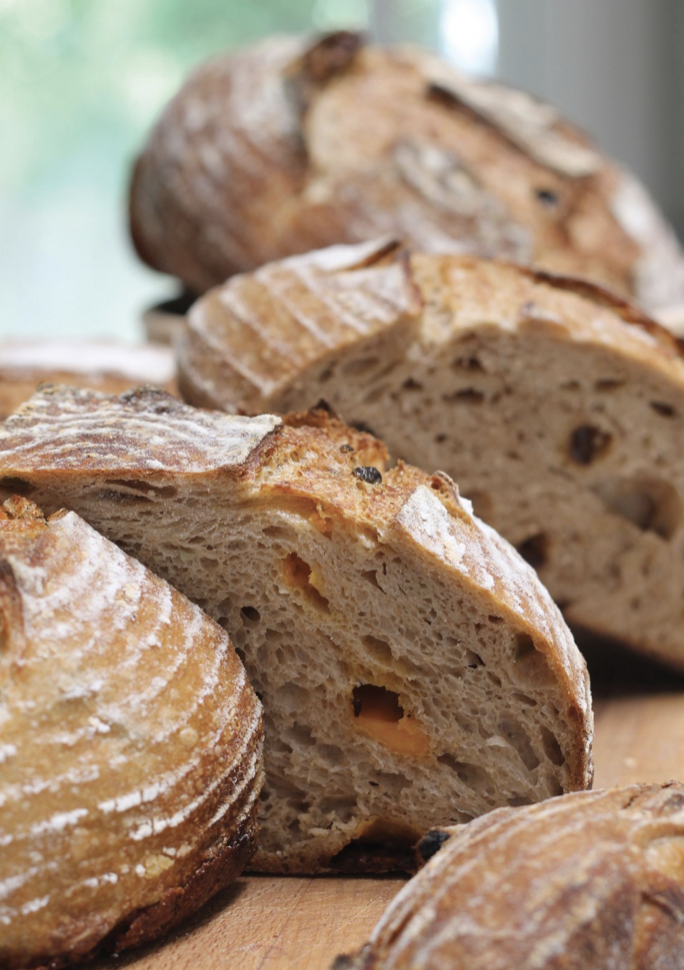 Bread Baking Basics: Recipes for Mastering Bread, Dough, & Flour