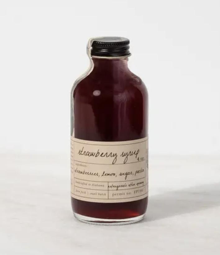 Stone Hollow Farmstead Strawberry Syrup, 4oz