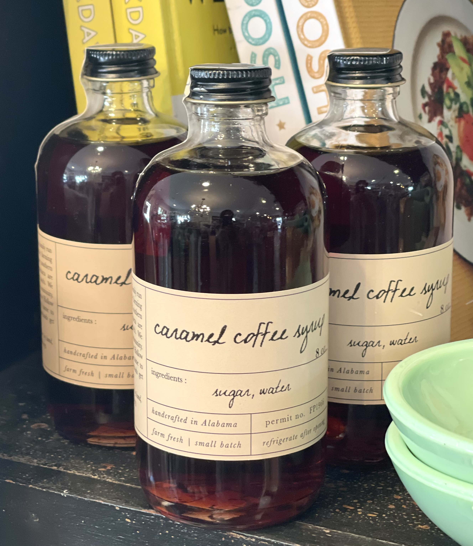 Stone Hollow Farmstead Caramel Coffee Syrup, 8oz