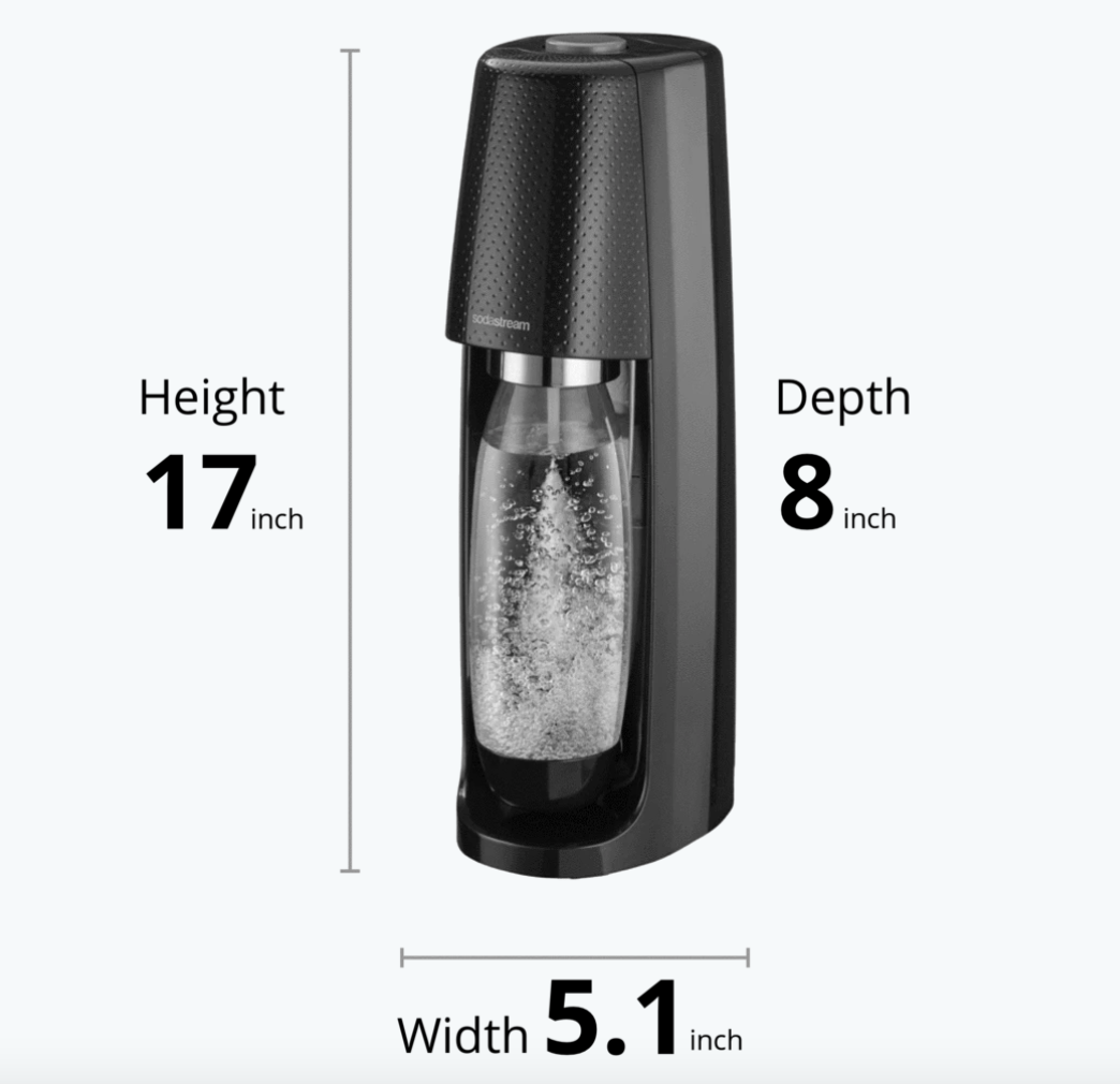 SodaStream Fizzi Classic Water Carbonator--CHOOSE COLOR