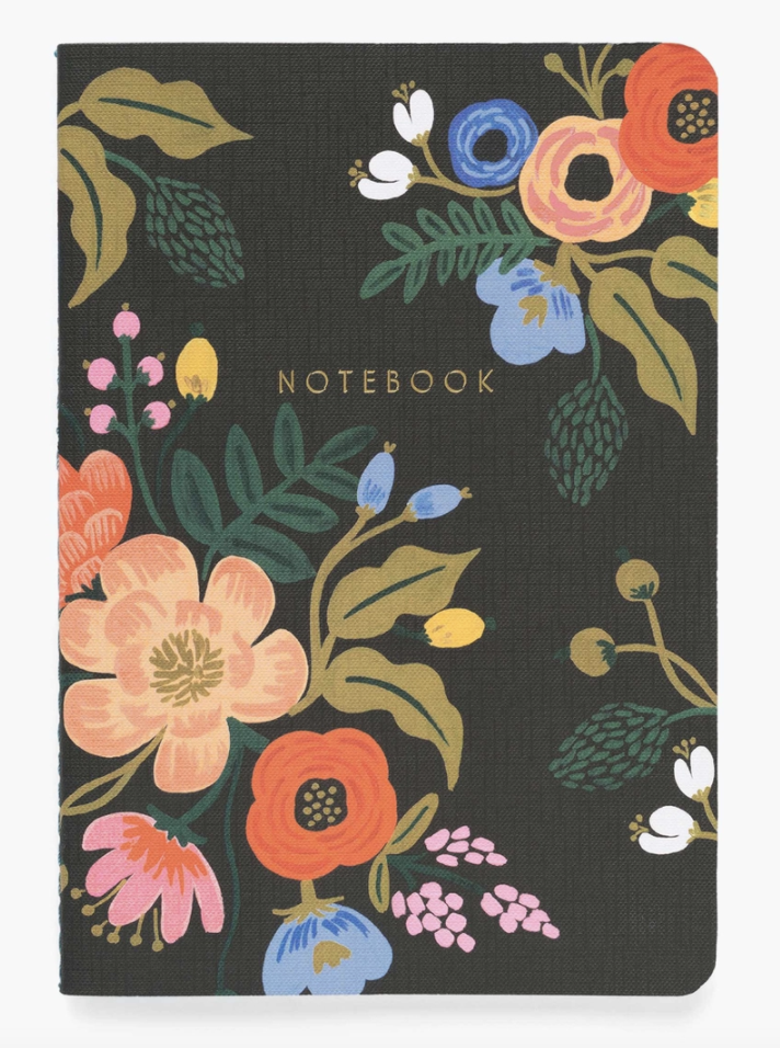 Rifle Paper Co. Floral Notebooks, set of 3 assorted--CHOOSE DESIGNS