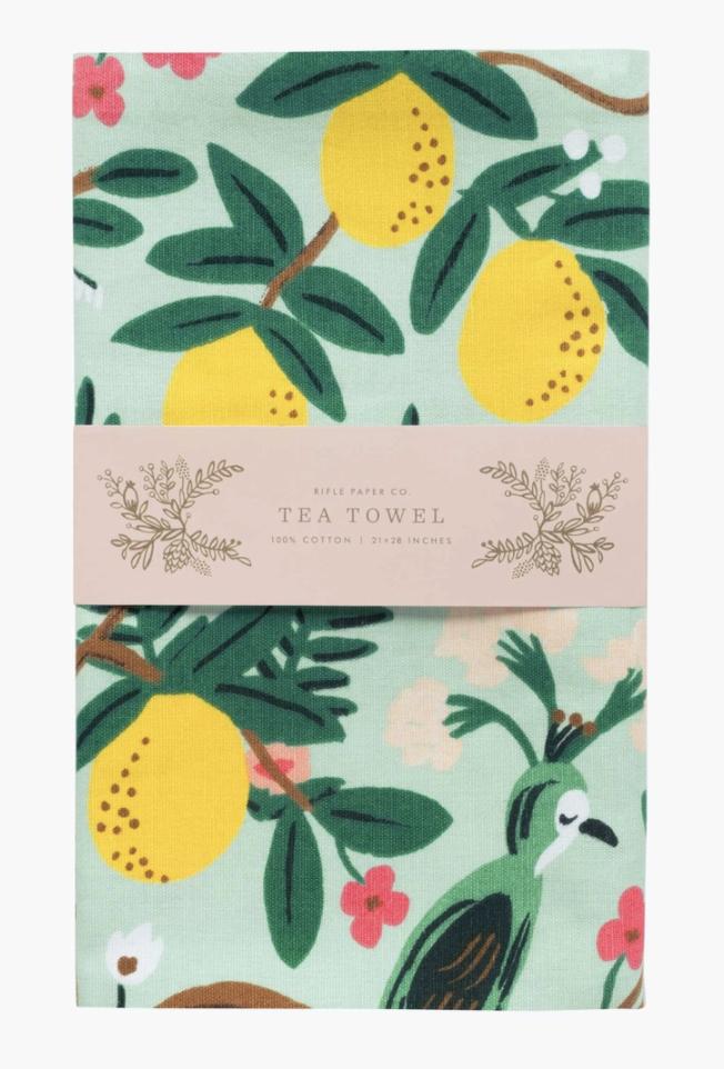 Shanghai Gardens, Rifle Paper Co. Tea Towel