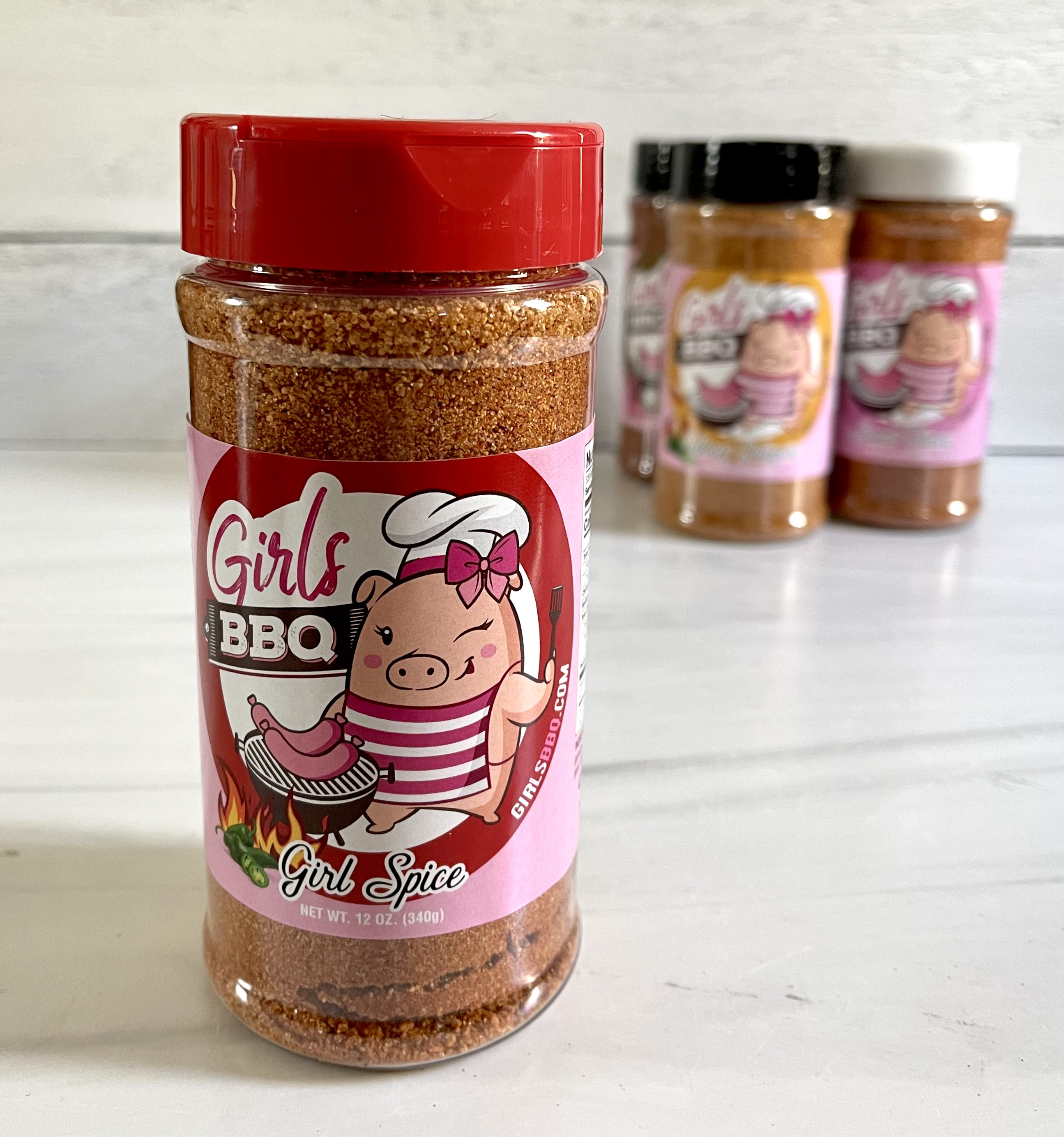 Girls BBQ Dry Rub, Girl Spice