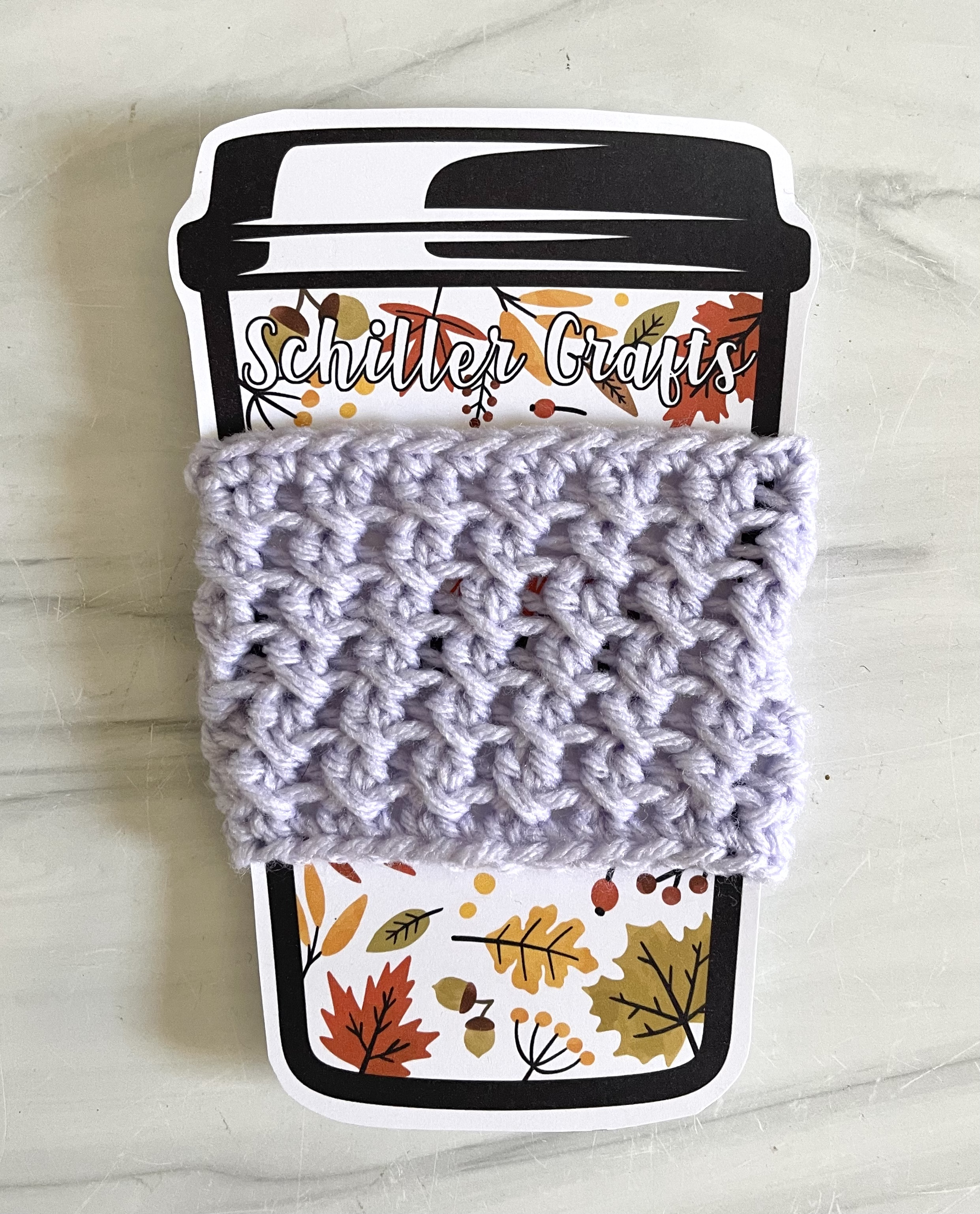 Crochet Cozy Coffee Sleeves