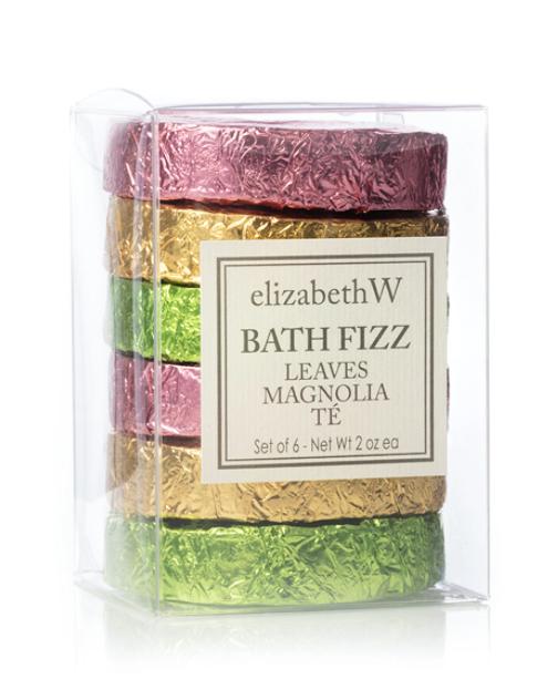 elizabeth W Bath Fizz, set of 6