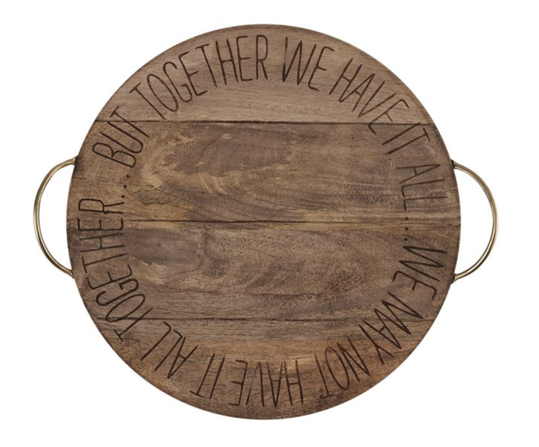 """Together"" Lazy Susan: FOR LOCAL PICK UP OR DELIVERY ONLY"