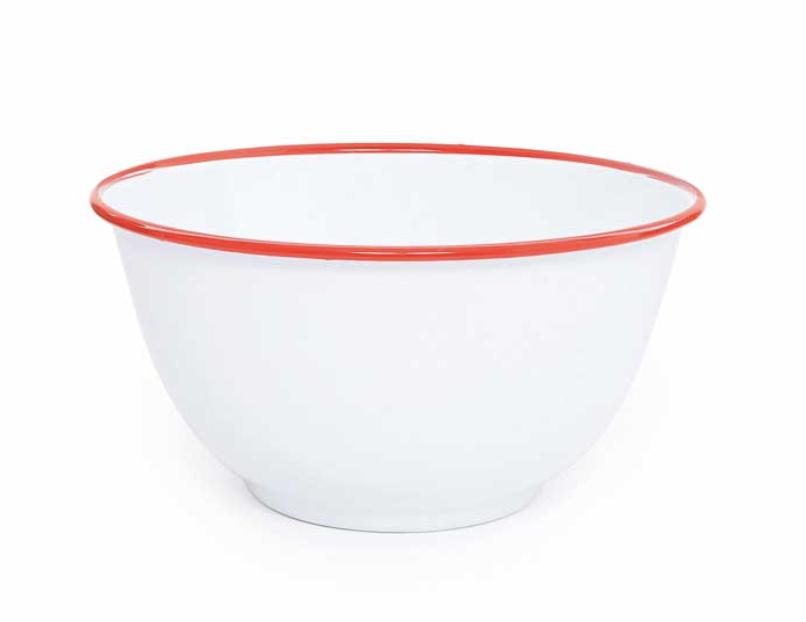 Enamelware Salad Bowl