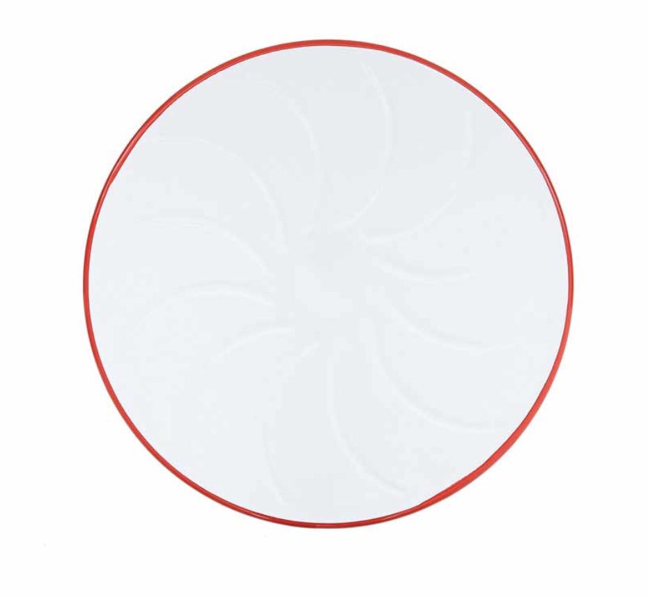 Enamelware Cake Platter