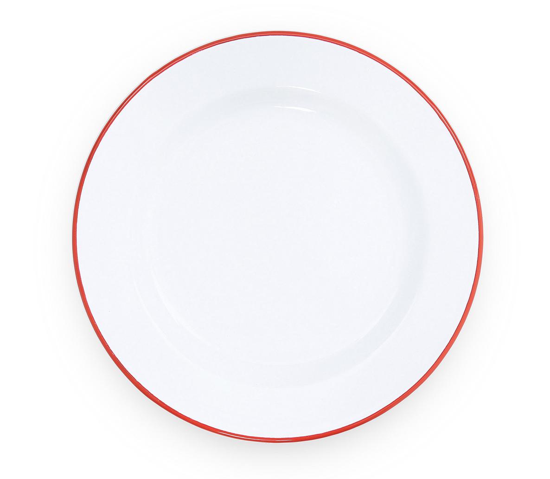 "Enamelware Dinner Plate, 10"""