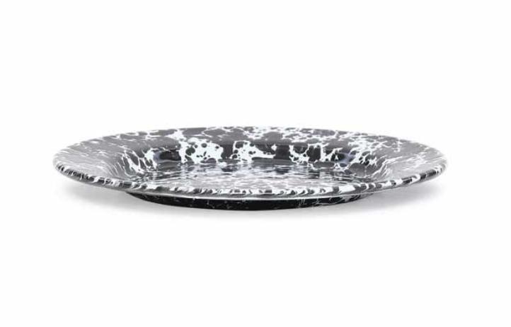 """Enamelware Salad Plate, 8.5"""""""