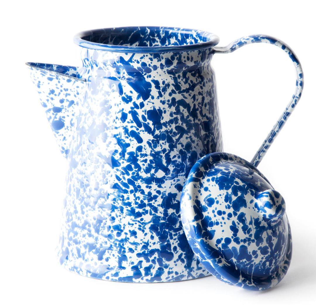 Small Enamelware Coffee Pot