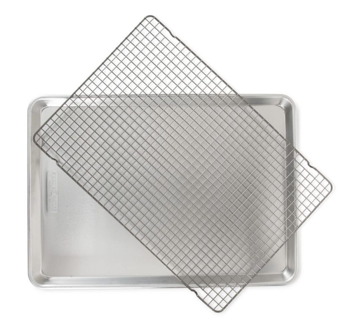 Naturals Big Sheet Pan with Oven-Safe Grid
