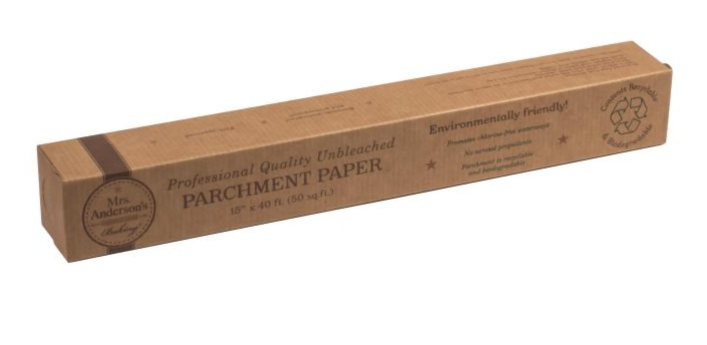 """Unbleached Parchment Paper, 15"""" x 40 feet (50 sq.ft)"""