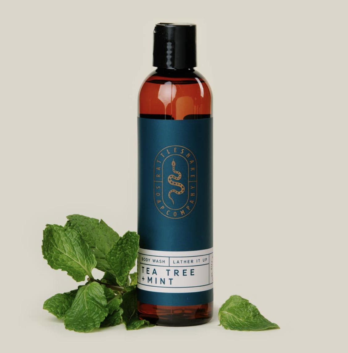 Tea Tree & Mint Body Wash, 8oz