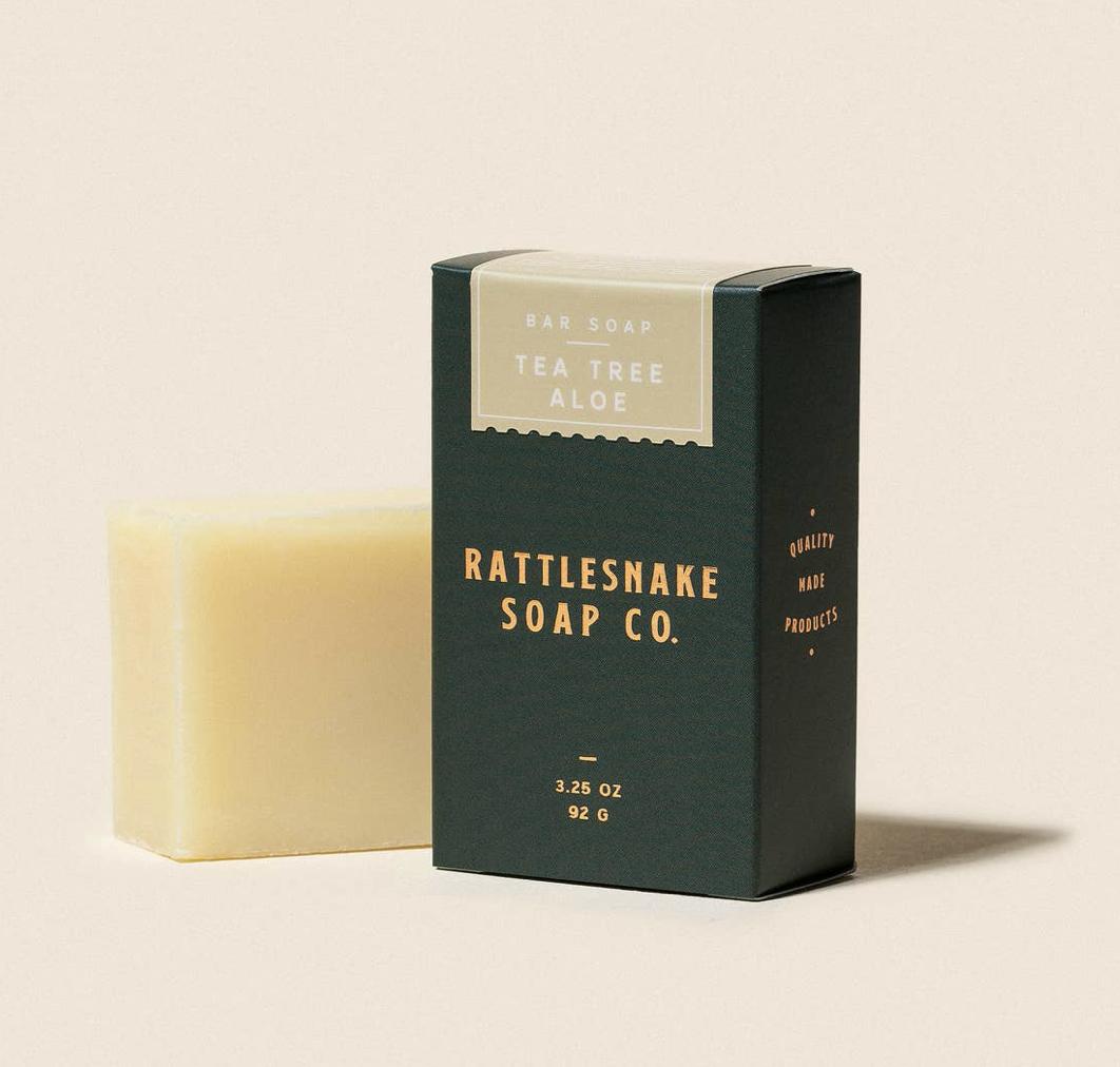 Tea Tree & Aloe Bar Soap, 3.25oz