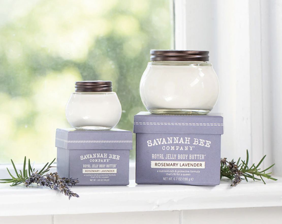 Royal Jelly Body Butter, Rosemary Lavender
