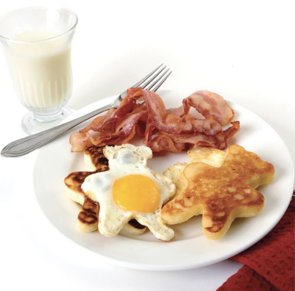 Nonstick Bear Pancake/Egg Rings