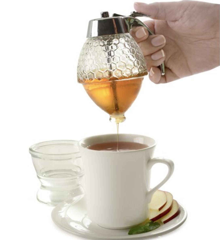 Hive Glass Syrup/Honey Dispenser (Norpro)