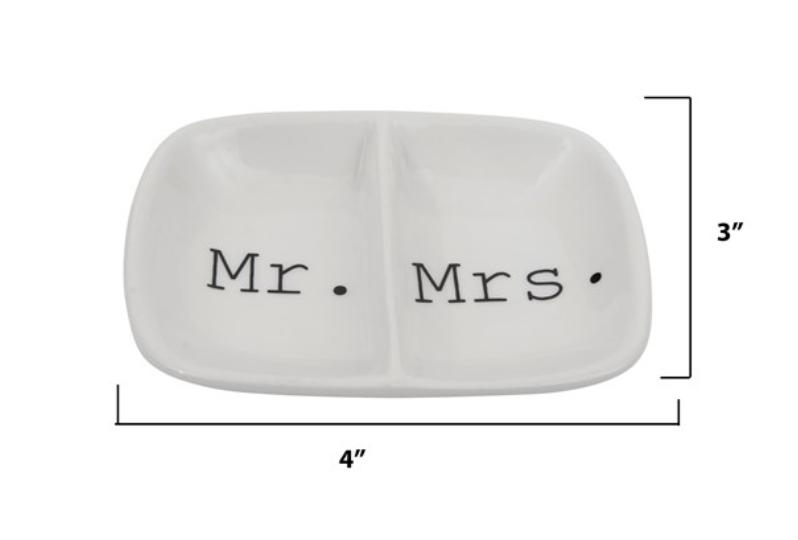 Mr/Mrs Ceramic Trinket