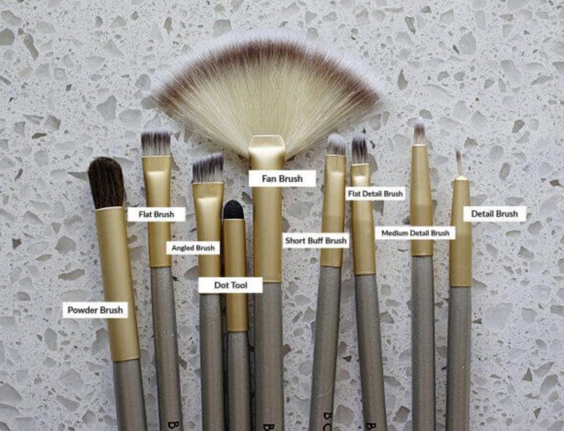 Borderlands Bakery Brush Set, 9pc set