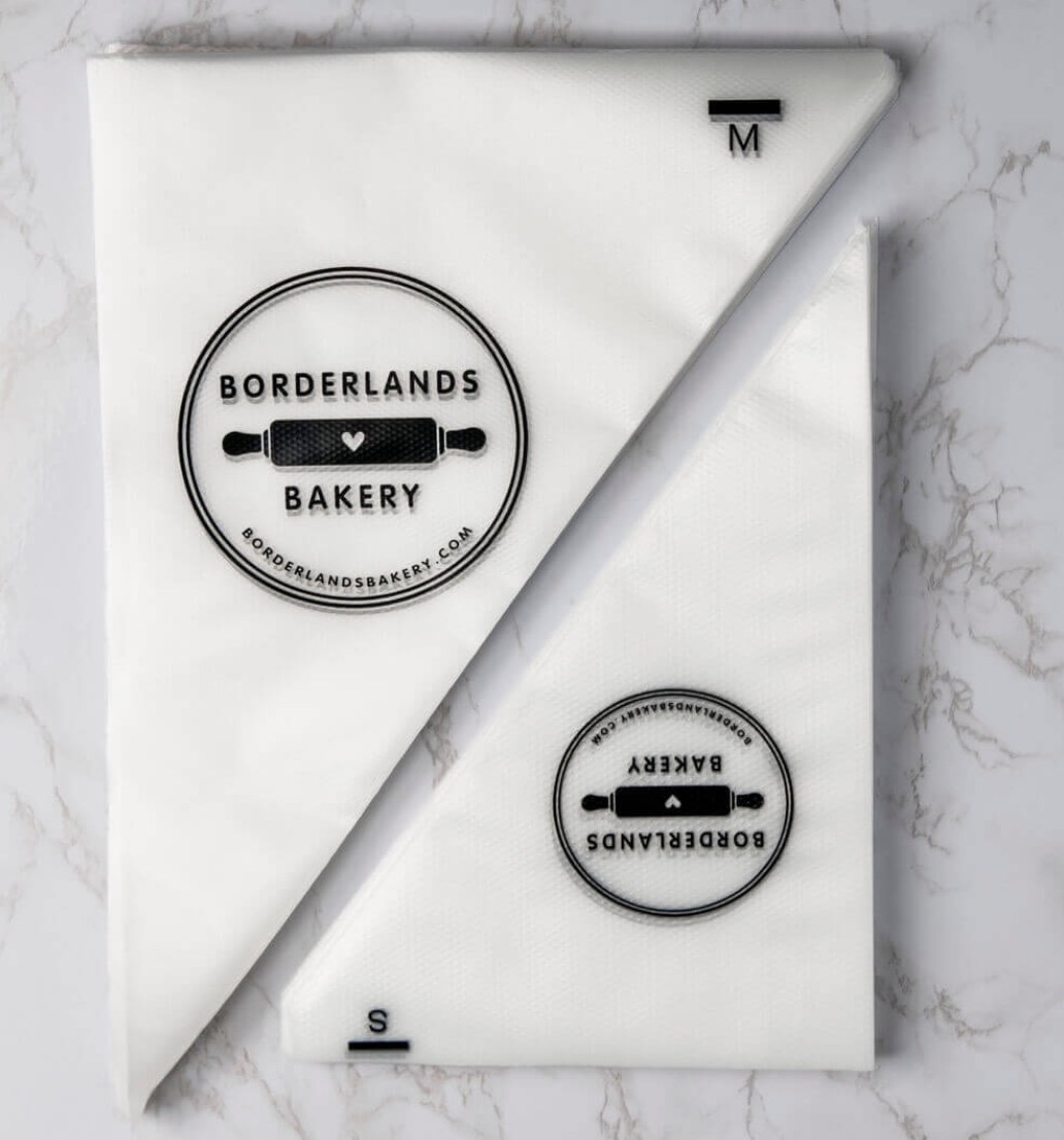 Borderlands Bakery Tipless Piping Bags, 2 sizes