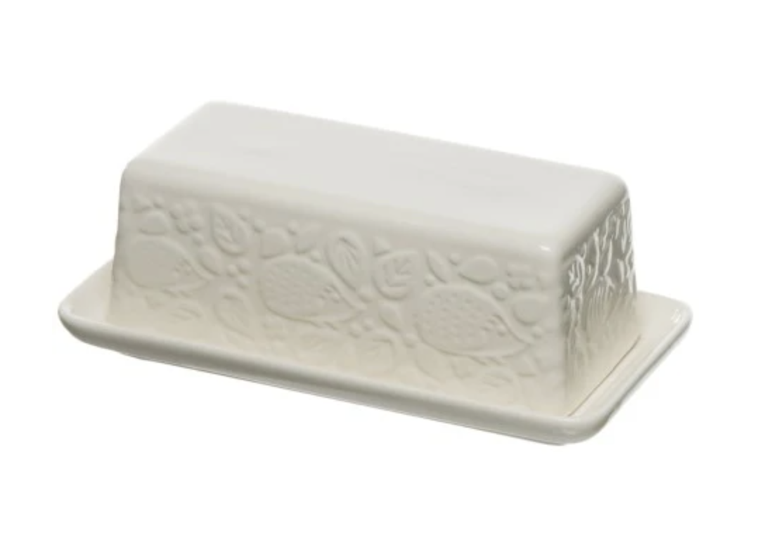 """""""In the Forest"""" Butter Dish"""