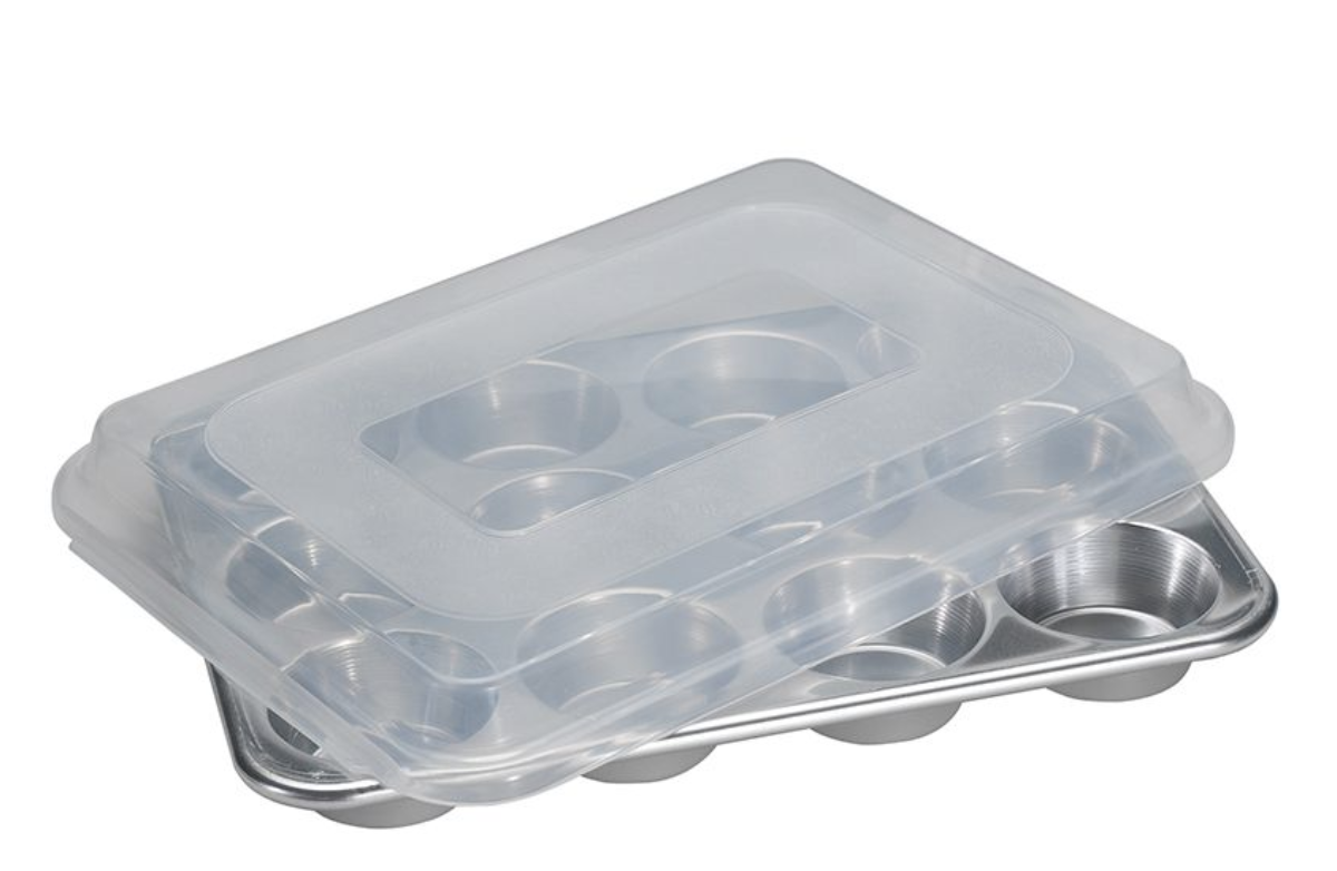Muffin Pan with Storage Lid