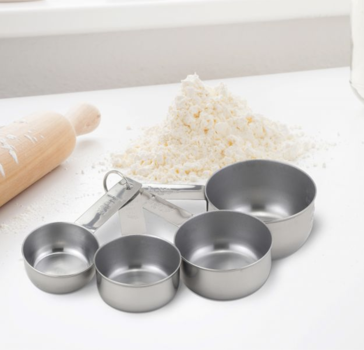 SS Measuring Cup, set of 4