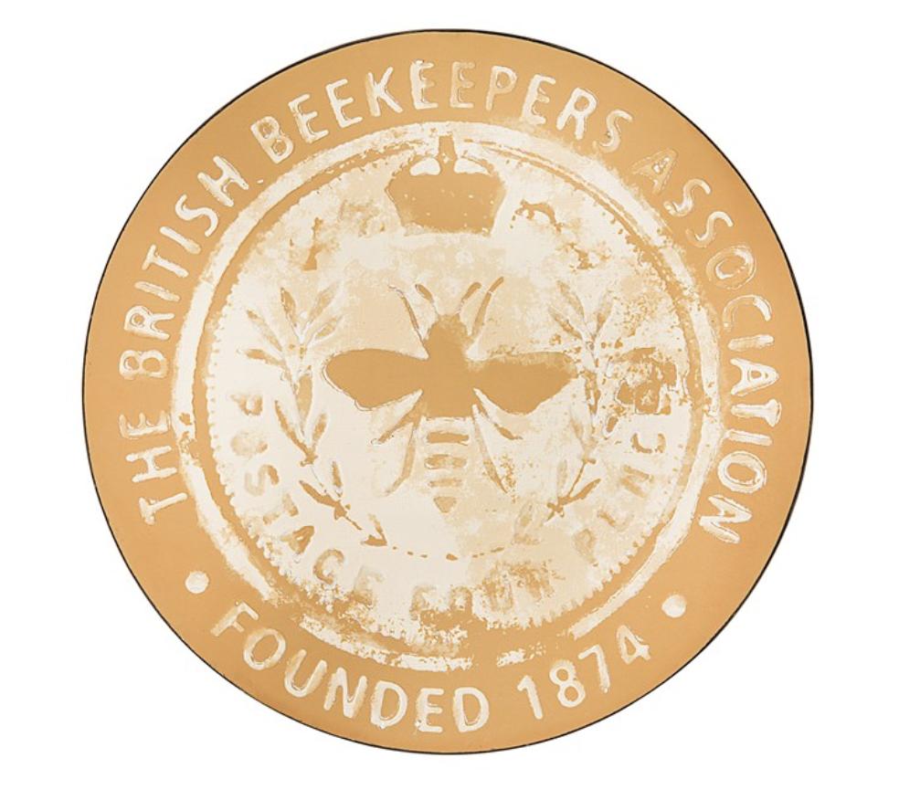 """""""British Beekeeper Association """" Tin Wall Sign"""