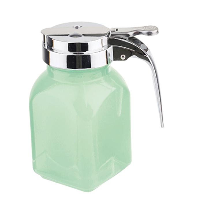 Jadeite Syrup Dispenser