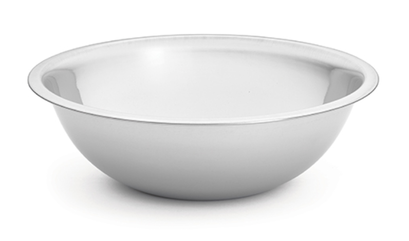 Heavyweight, 8 qt Stainless Steel Bowl